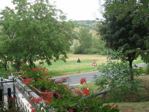 Agriturismo: veduta sul monte Bibele