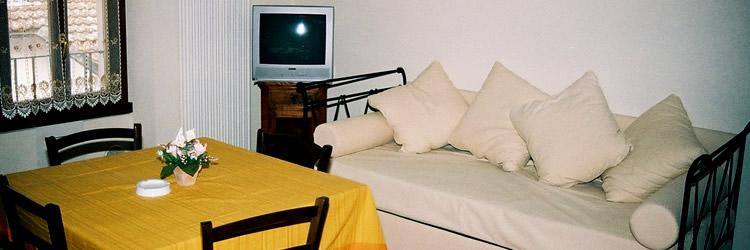 Gli appartamenti dell'agriturismo